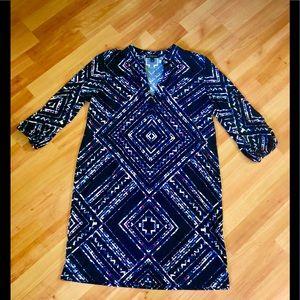 💙2/$20 🌺Banana Republic Patterned Shift Dress 🌺